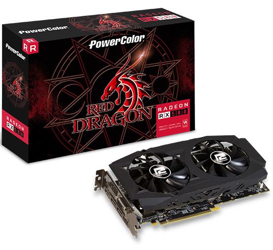 PowerColor Radeon RX 580 Red Dragon Edition 8GB