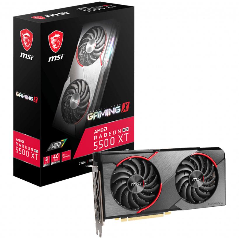 MSI Radeon RX 5500XT Gaming X 8GB