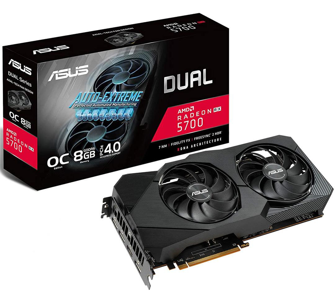ASUS Radeon RX 5700 Dual EVO OC 8GB