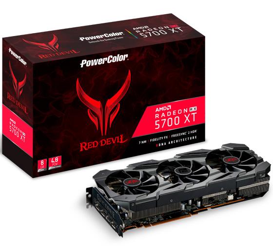PowerColor Radeon RX 5700 XT Red Devil 8GB