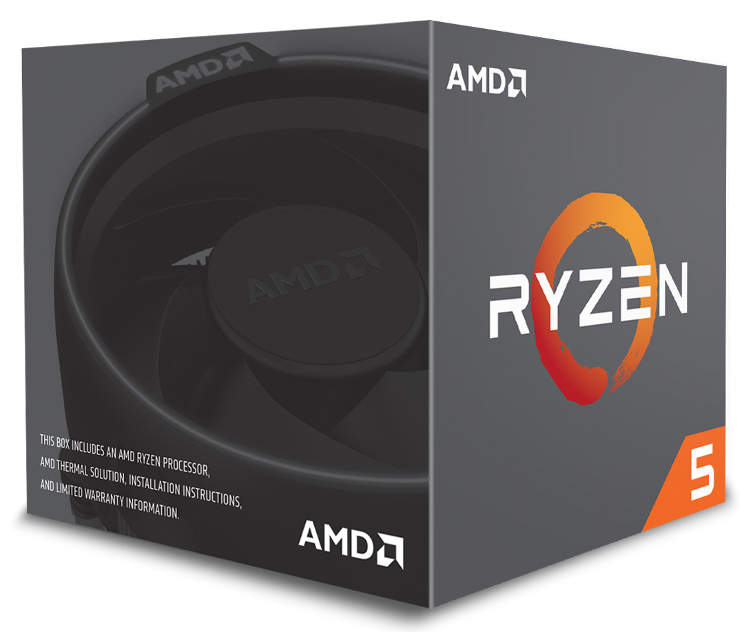 AMD Ryzen 5 2600 Processor with Wraith Stealth