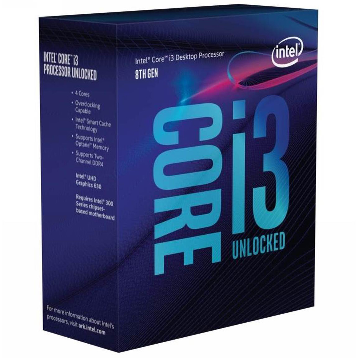 Intel Core i3 8350K Processor