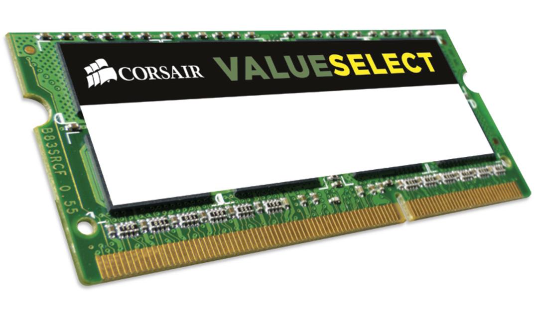 Corsair 8GB (1x8GB) 1600MHz CL11 DDR3L SODIMM