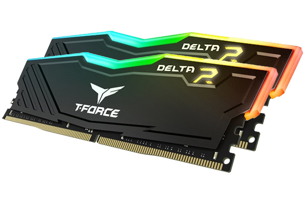 Team T-Force Delta RGB 32GB (2x16GB) 3200MHz CL16 DDR4 Black