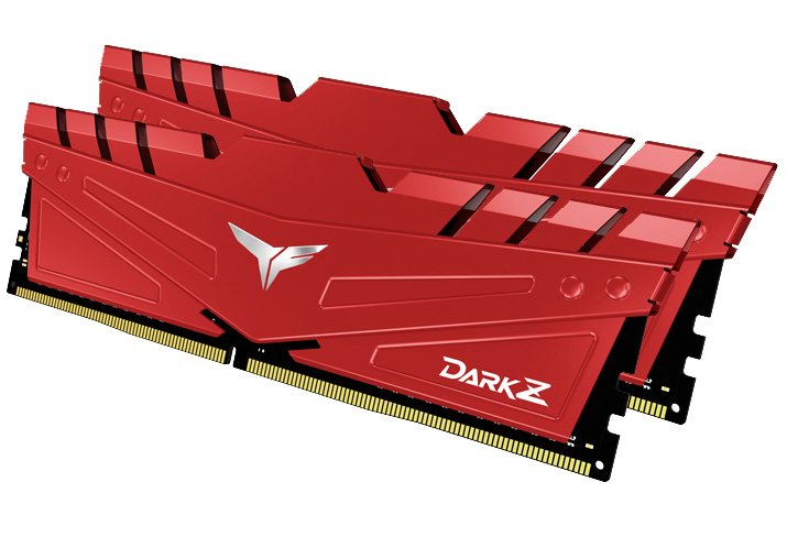 Team T-Force Dark Z 16GB (2x8GB) 3200MHz CL16 DDR4 Red
