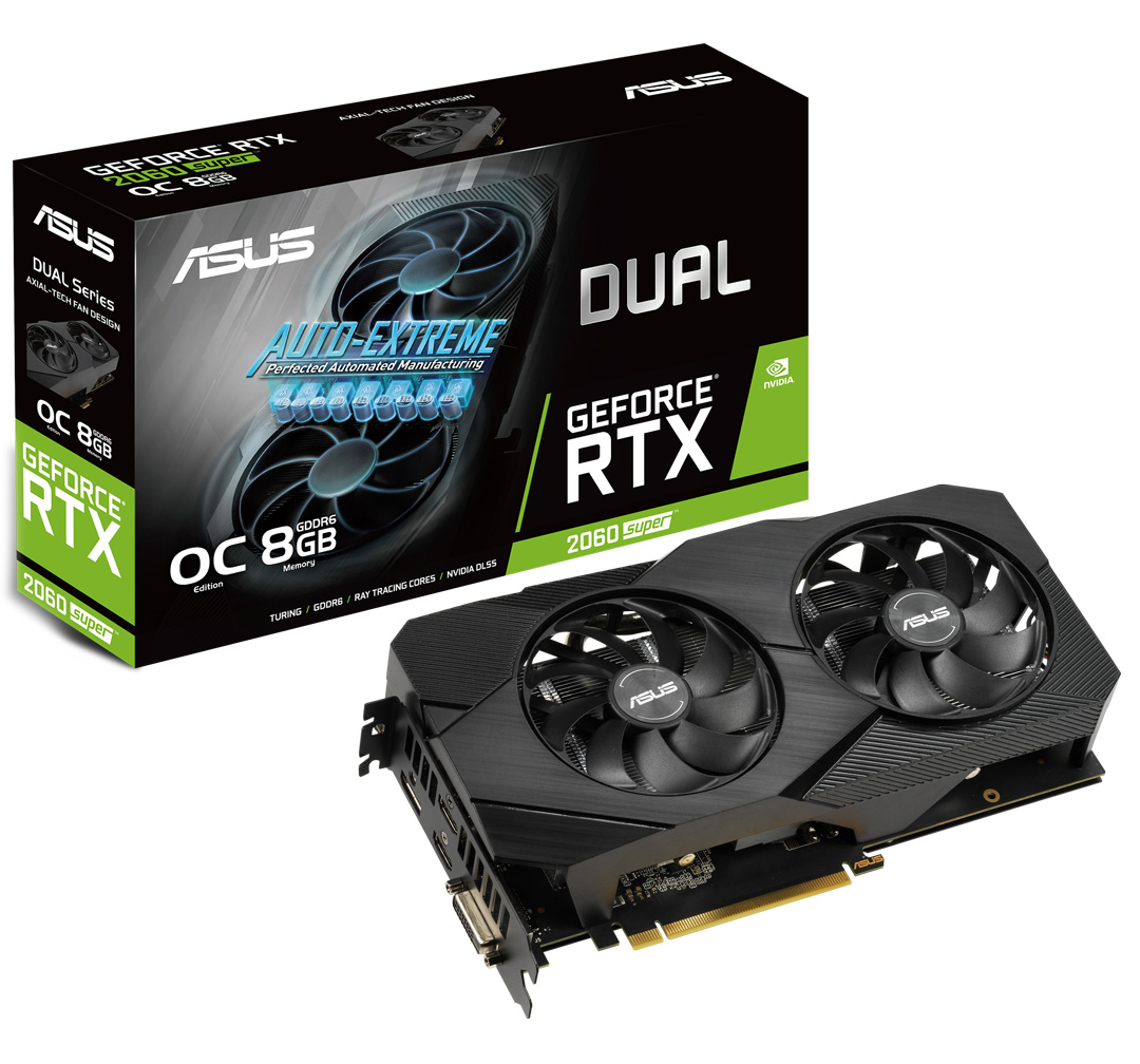 ASUS GeForce RTX 2060 Super Dual OC EVO 8GB V2