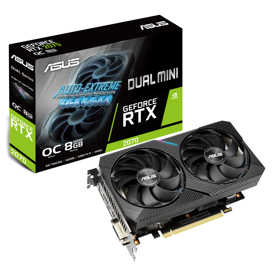 ASUS GeForce RTX 2070 Dual OC EVO Mini 8GB
