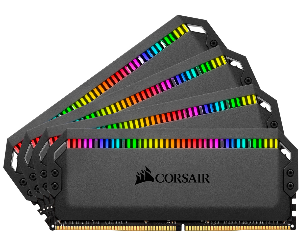 Corsair Dominator Platinum RGB 64GB (4x16GB) 3200MHz CL16 DDR4