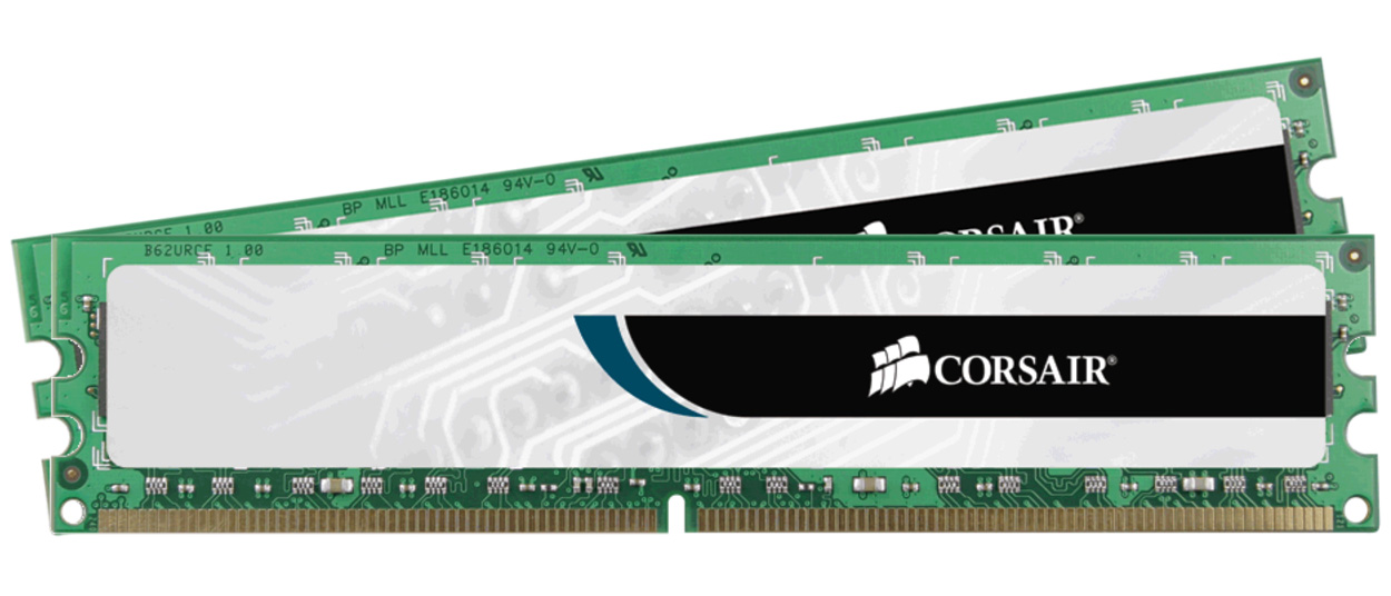 Corsair Value Select 8GB (2x4GB) 1600MHz CL15 DDR3