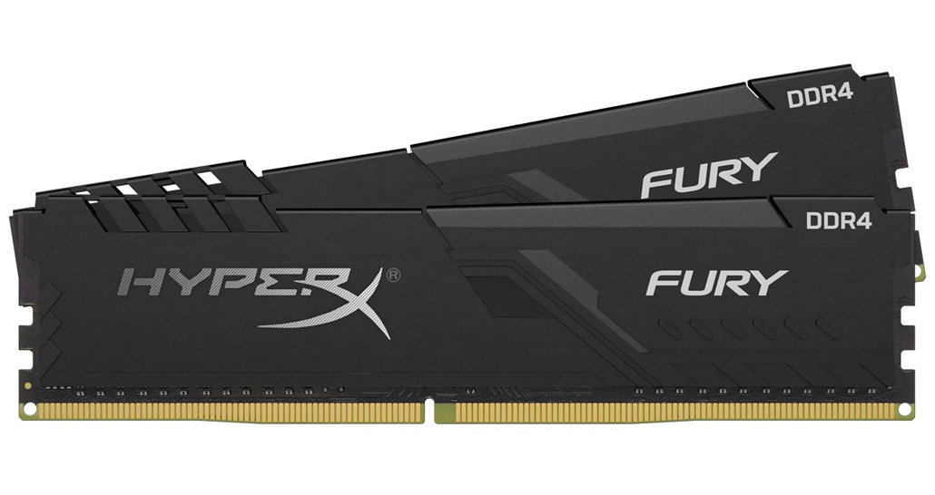 Kingston HyperX Fury 32GB (2x16GB) 2666MHz CL16 DDR4 Black