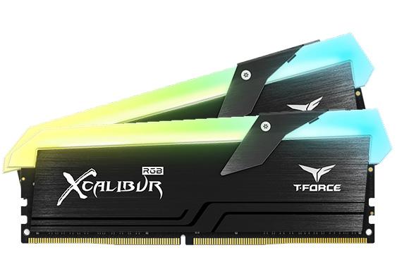 Team T-Force Xcalibur RGB 16GB (2x8GB) 3600MHz CL18 DDR4 Black