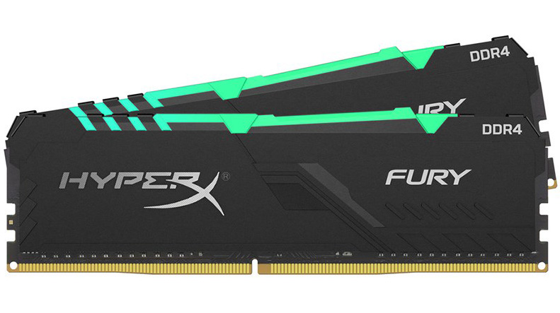 Kingston HyperX Fury RGB 32GB (2x16GB) 3466MHz CL16 DDR4