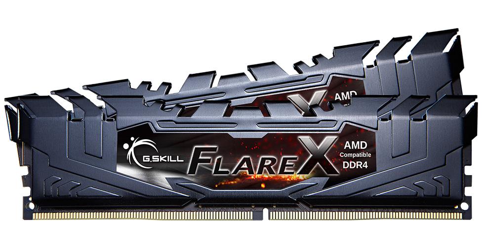 G.Skill Flare X 16GB (2x8GB) 3200MHz CL16 DDR4