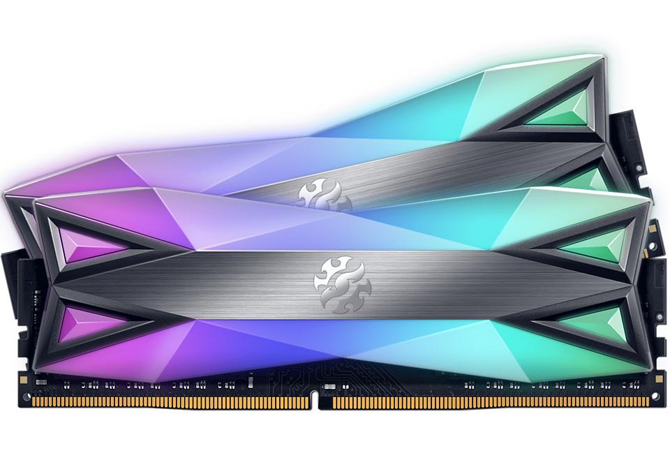 ADATA XPG Spectrix D60G RGB 16GB (2x8GB) 3200MHz CL16 DDR4 Grey