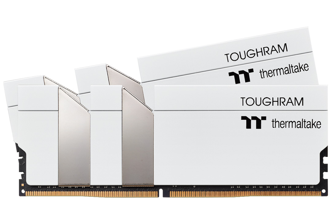 Thermaltake ToughRAM 16GB (2x8GB) 4400MHz CL19 DDR4 White