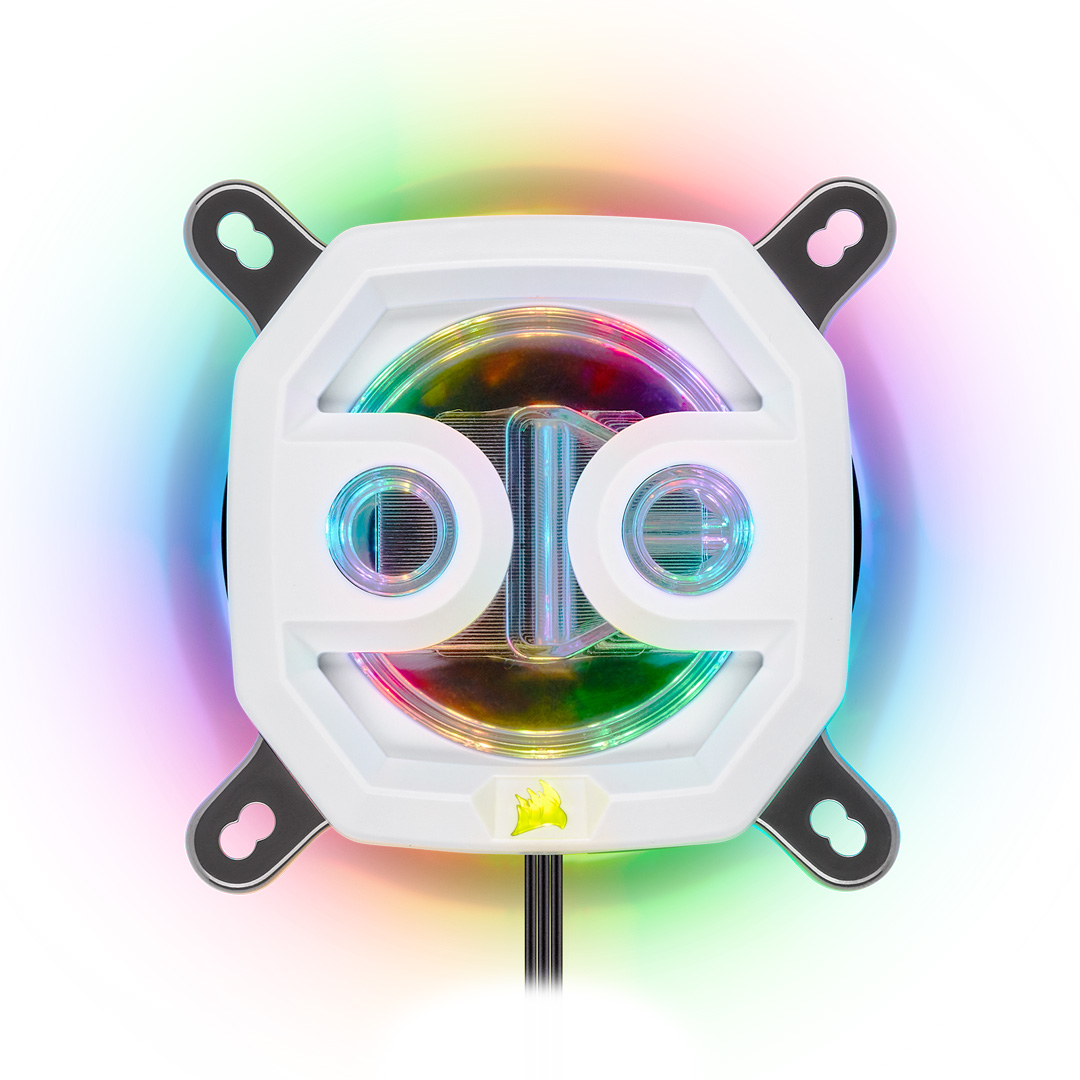 Corsair Hydro X Series XC7 RGB CPU Water Block White