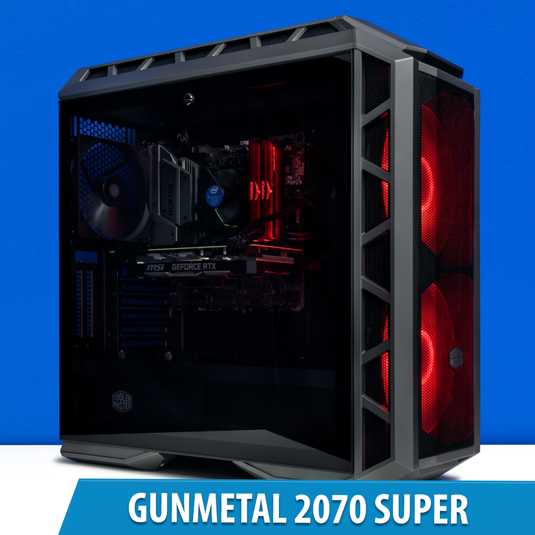 PCCG Gunmetal 2070 Super Gaming System