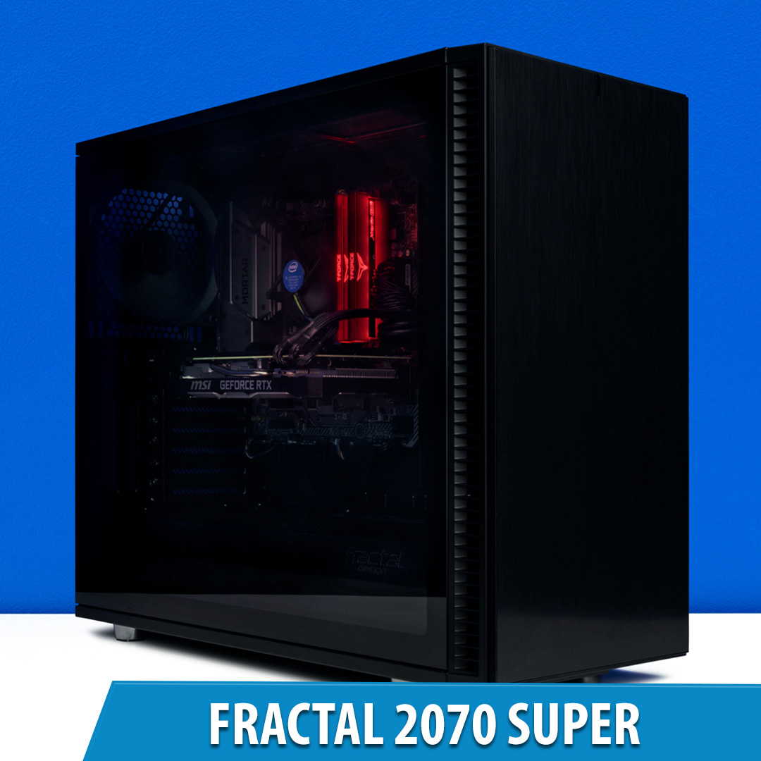 PCCG Fractal 2070 Super Gaming System