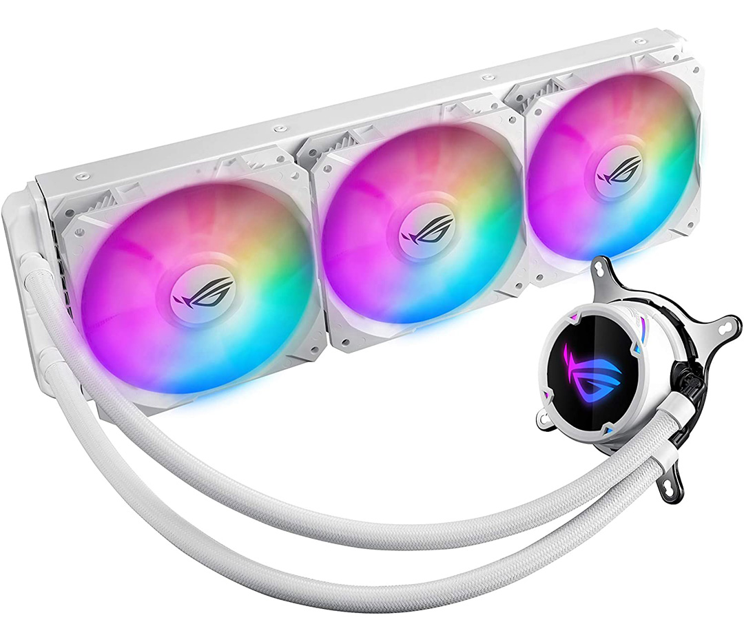 ASUS ROG Strix LC 360 ARGB AIO Liquid CPU Cooler White Edition