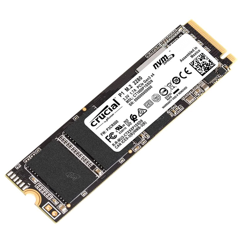 Crucial P1 M.2 NVMe SSD 500GB