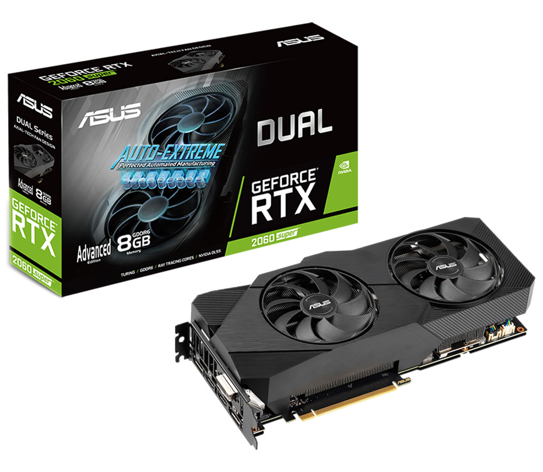 ASUS GeForce RTX 2060 Super Dual Advanced EVO 8GB