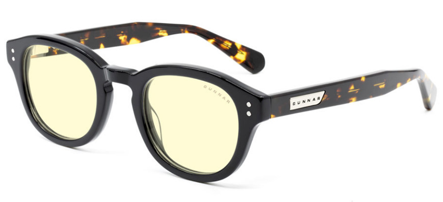 Gunnar Emery Onyx Jasper Amber Indoor Digital Eyewear