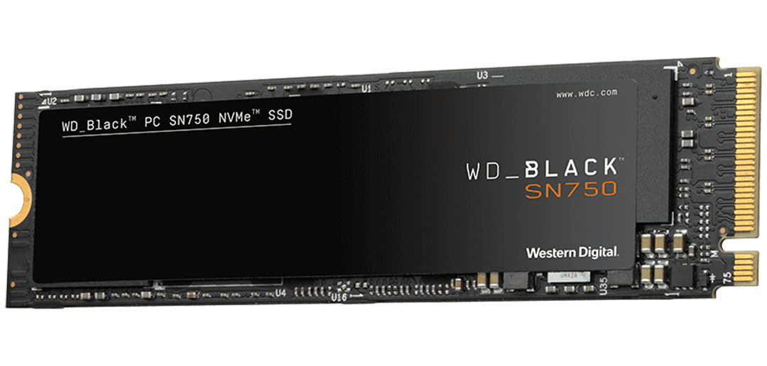 Western Digital Black SN750 NVMe M.2 SSD 1TB