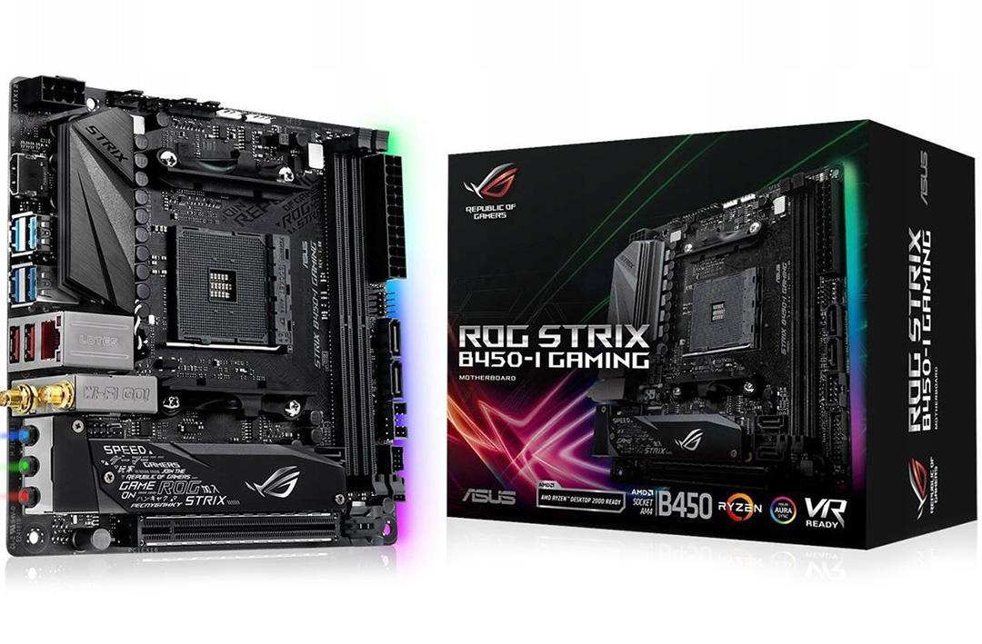 ASUS ROG Strix B450-I Gaming Motherboard