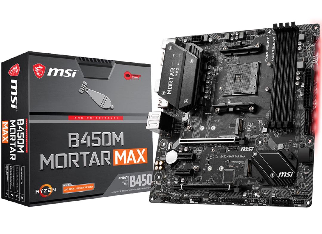 MSI B450M Mortar Max Motherboard
