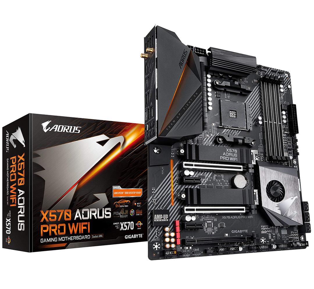Gigabyte X570 Aorus Pro WiFi Motherboard