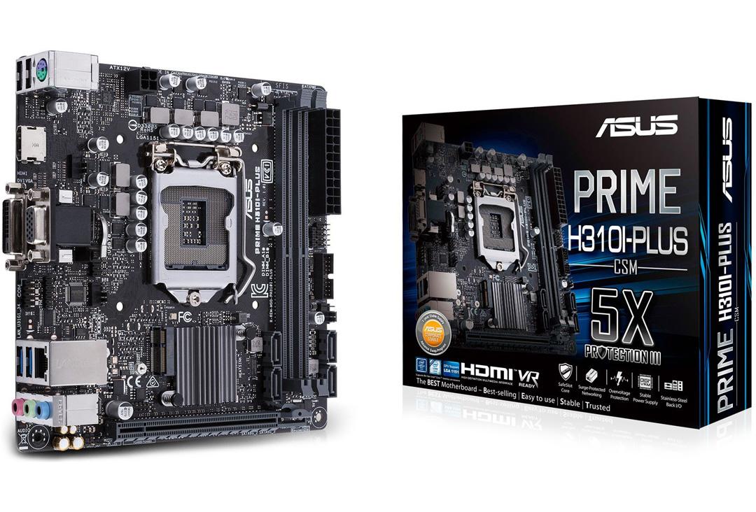 ASUS Prime H310I Plus R2.0 ITX Motherboard