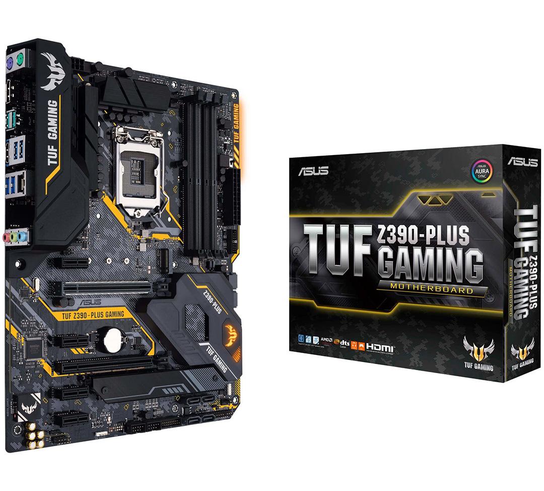 ASUS TUF Z390 Plus Gaming Motherboard