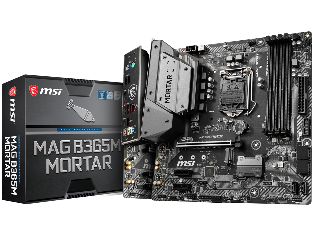 MSI B365M Mortar Motherboard