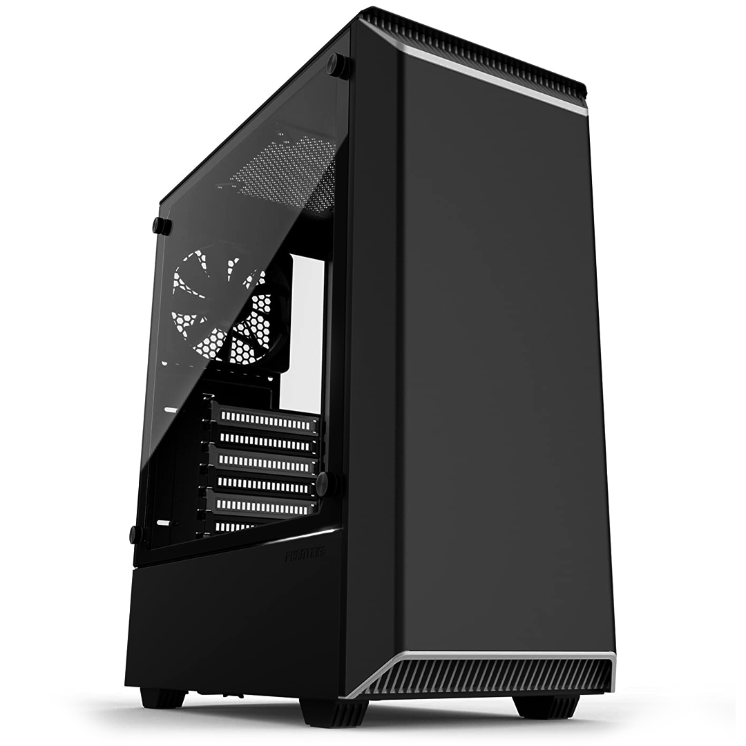 Phanteks Eclipse P300 Tempered Glass Black/White