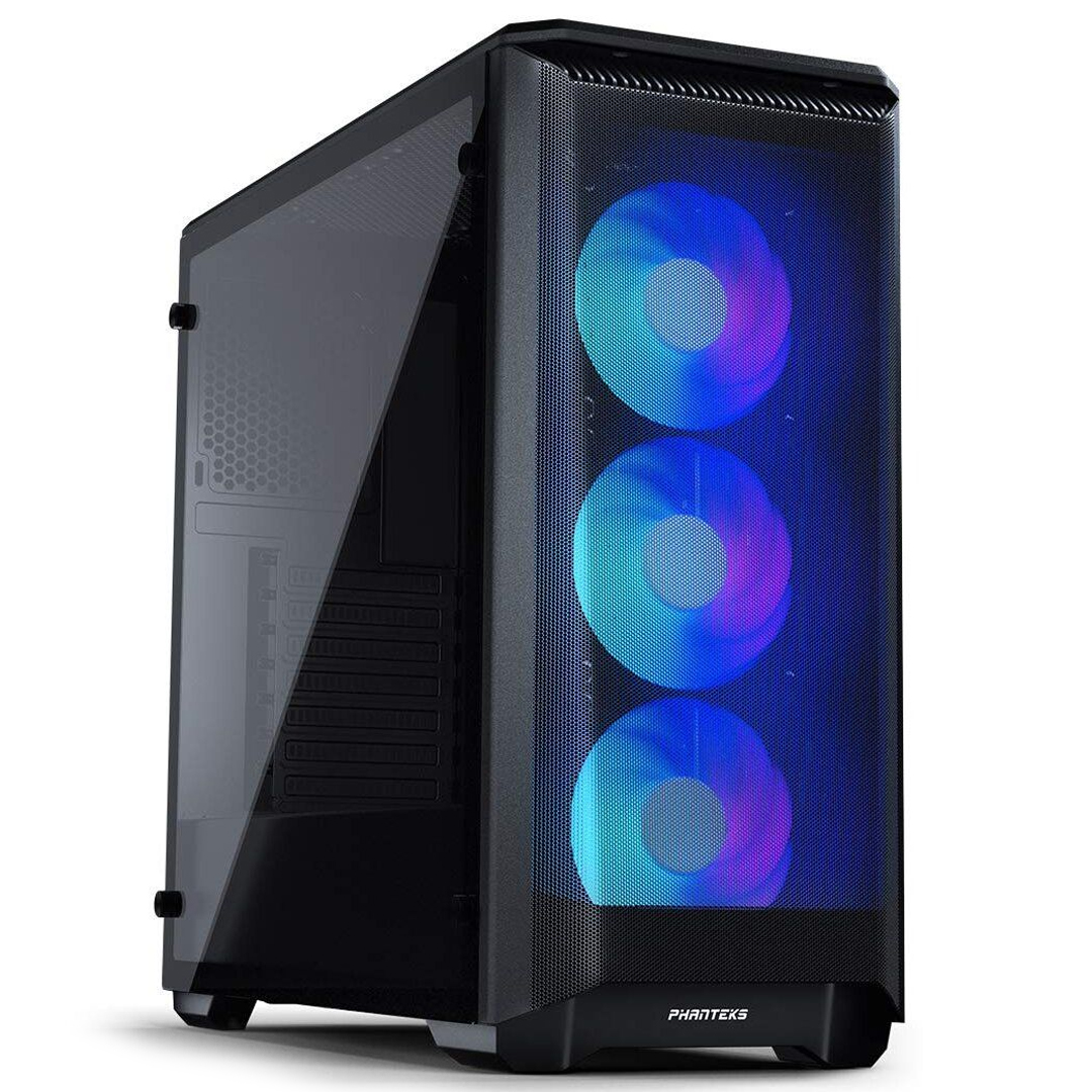 Phanteks Eclipse P400A Airflow D-RGB Tempered Glass Black