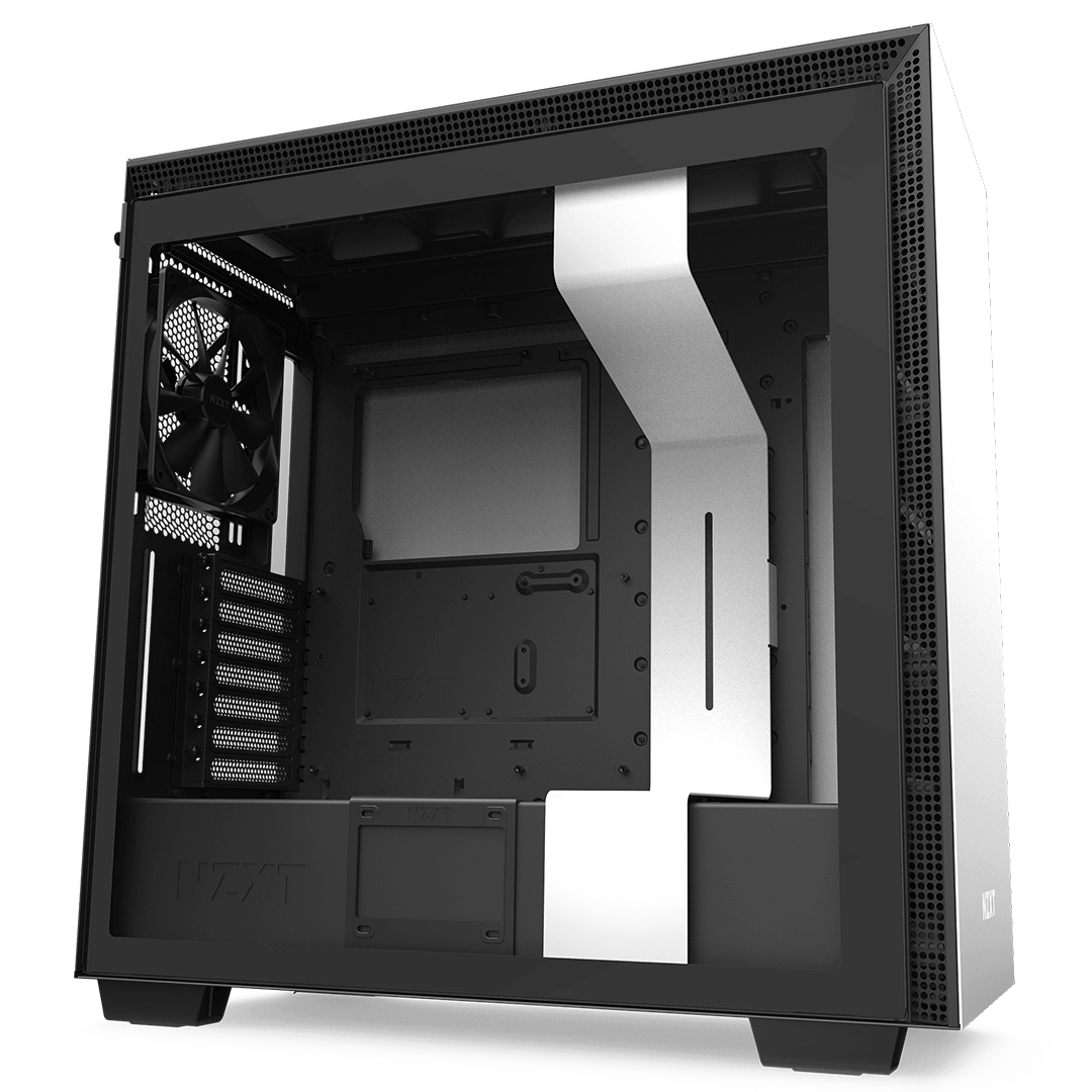 NZXT H710 Mid Tower Case Matte White/Black
