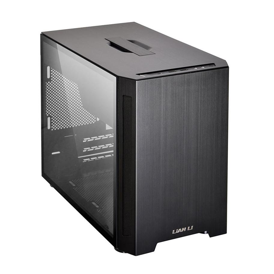 Lian Li PC-TU150 Mini ITX Tempered Glass Case Black