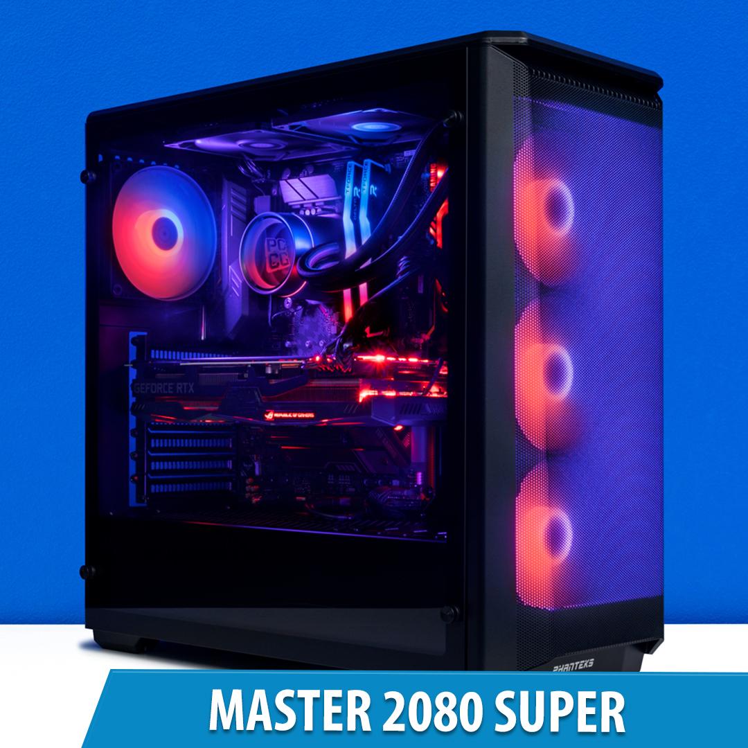 PCCG Master 2080 Super Gaming System