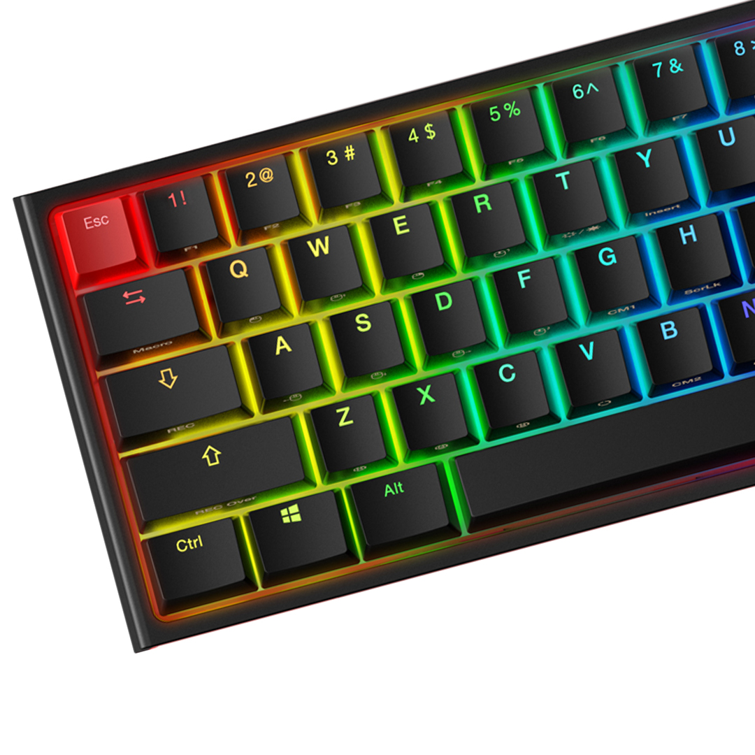 HyperX Ducky One 2 Mini RGB Mechanical Keyboard Red Switch