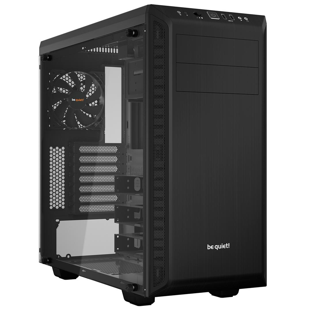 be quiet! Pure Base 600 TG Case Black