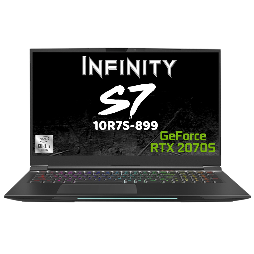 Infinity S7 Core i7 RTX 2070 Super 17.3in 240Hz Notebook