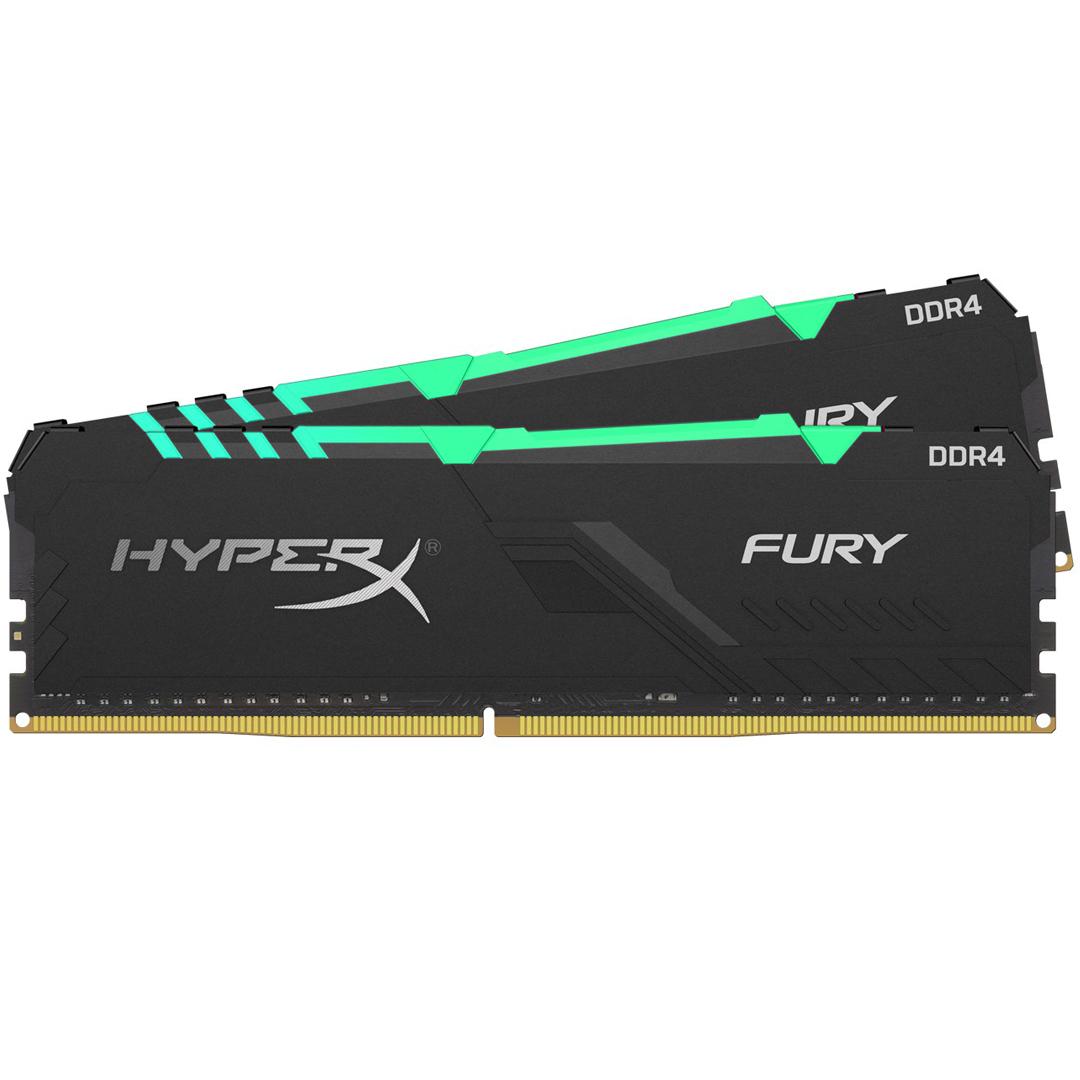 Kingston HyperX Fury RGB 32GB (2x16GB) 3200MHz CL16 DDR4