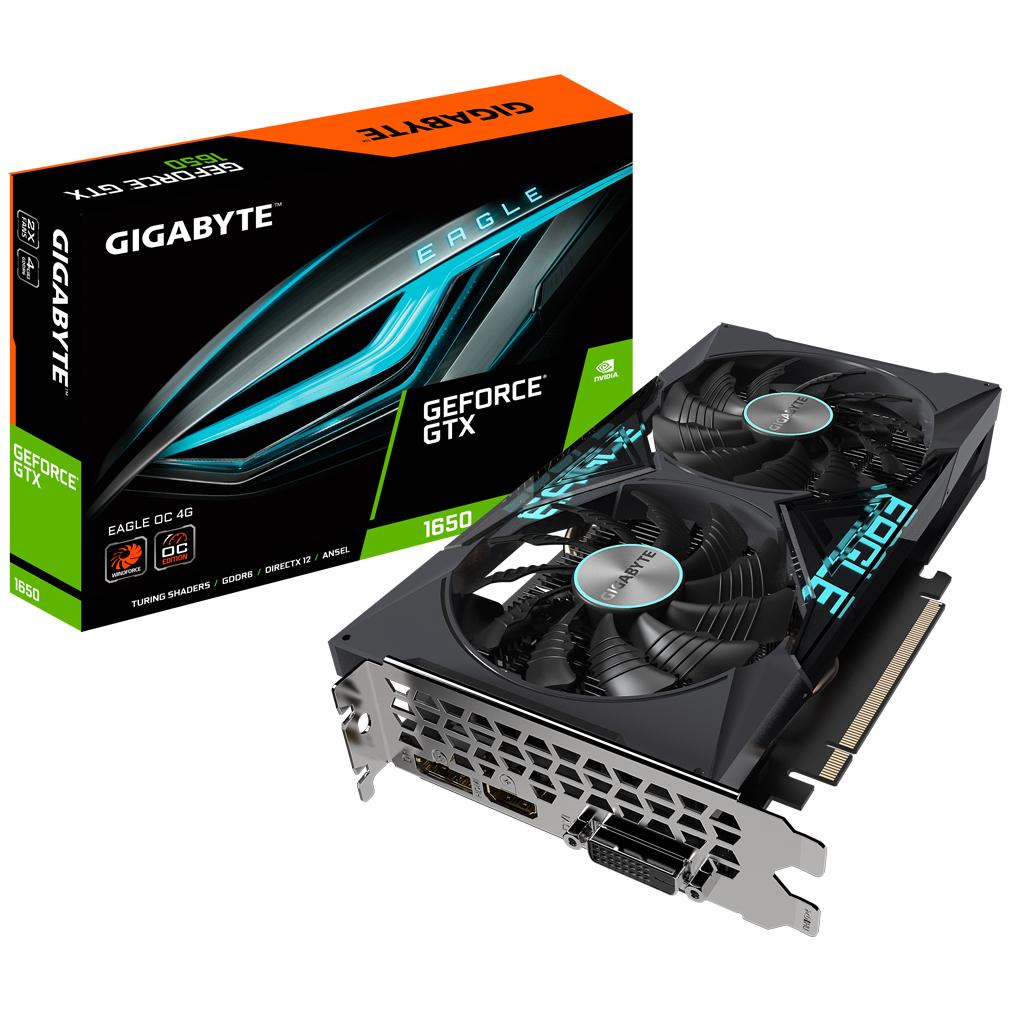 Gigabyte GeForce GTX 1650 D6 Eagle 4GB OC