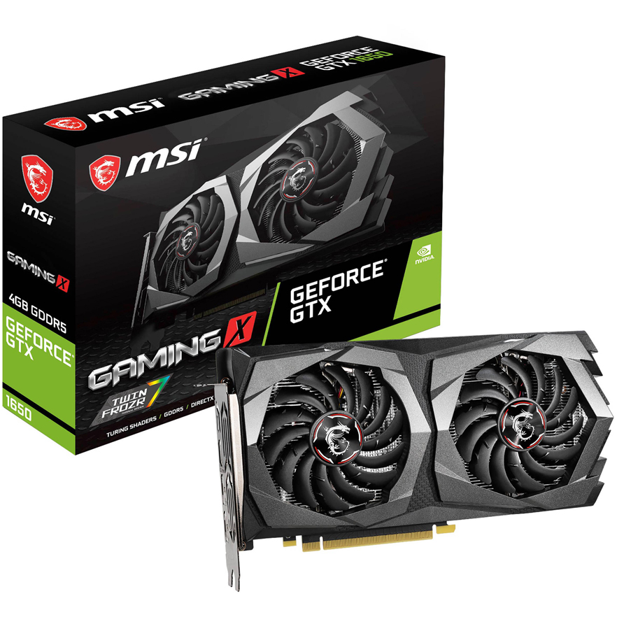MSI GeForce GTX 1650 D6 Gaming X 4GB