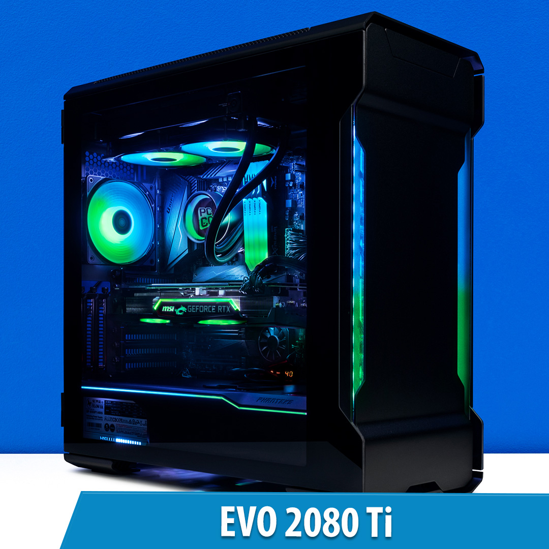 PCCG Evo 2080 Ti Gaming System