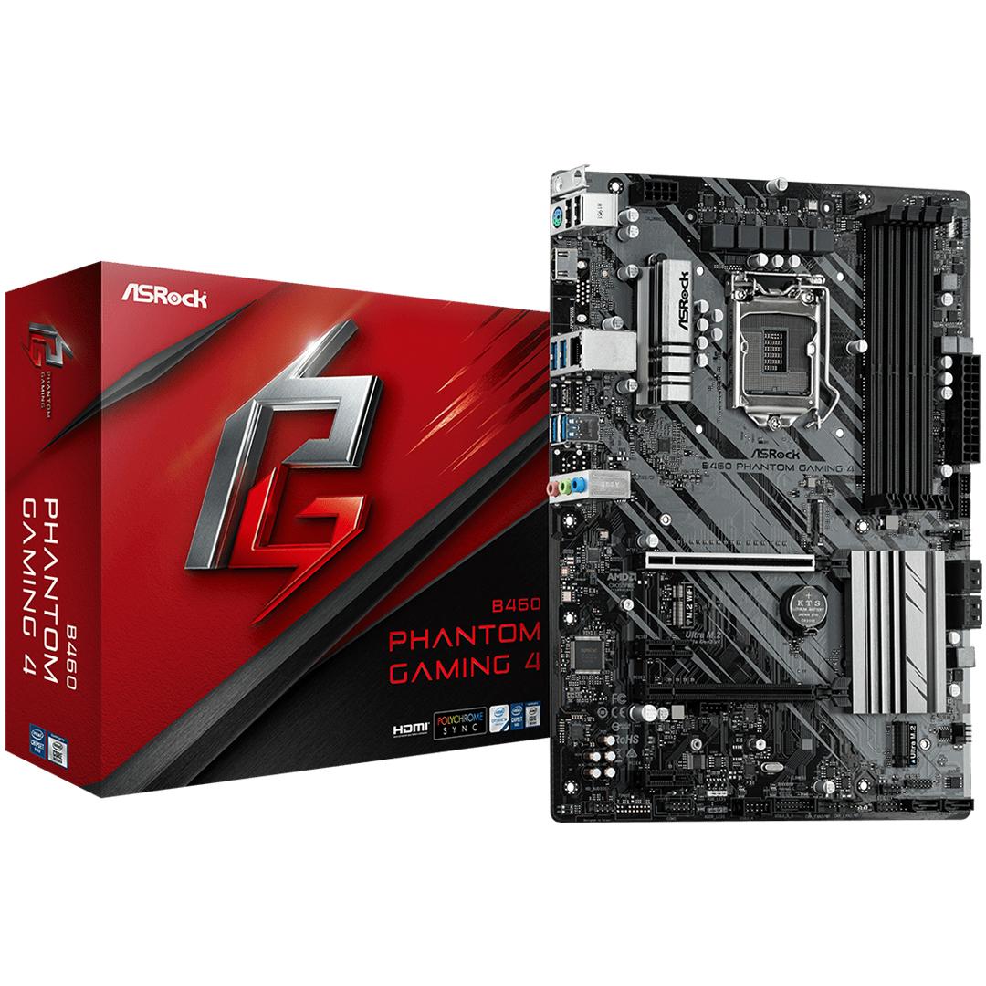ASRock B460 Phantom Gaming 4 Motherboard