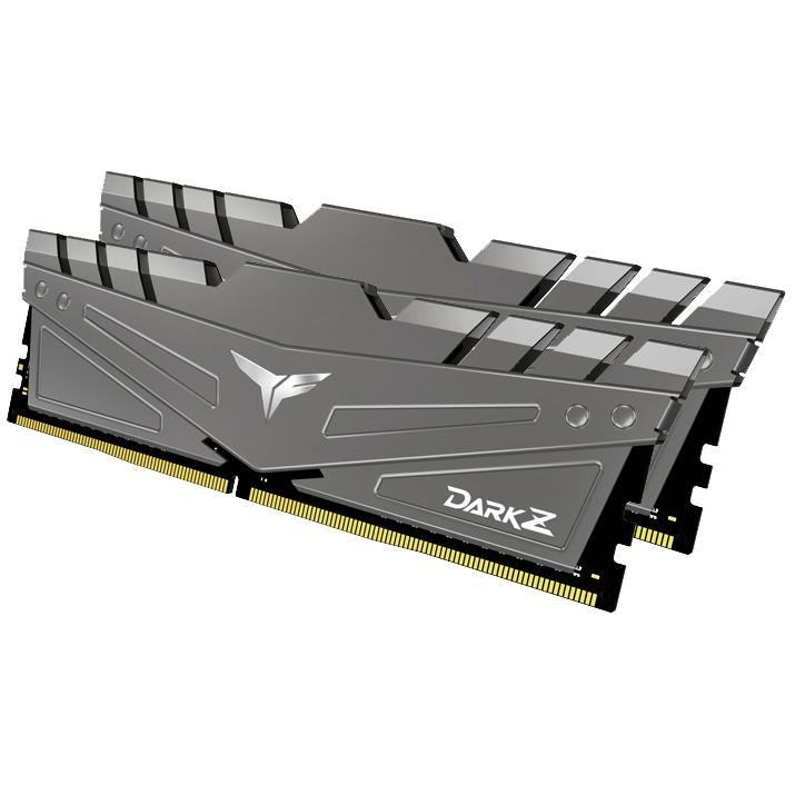 Team T-Force Dark Z 64GB (2x32GB) 3200MHz CL16 DDR4 Grey