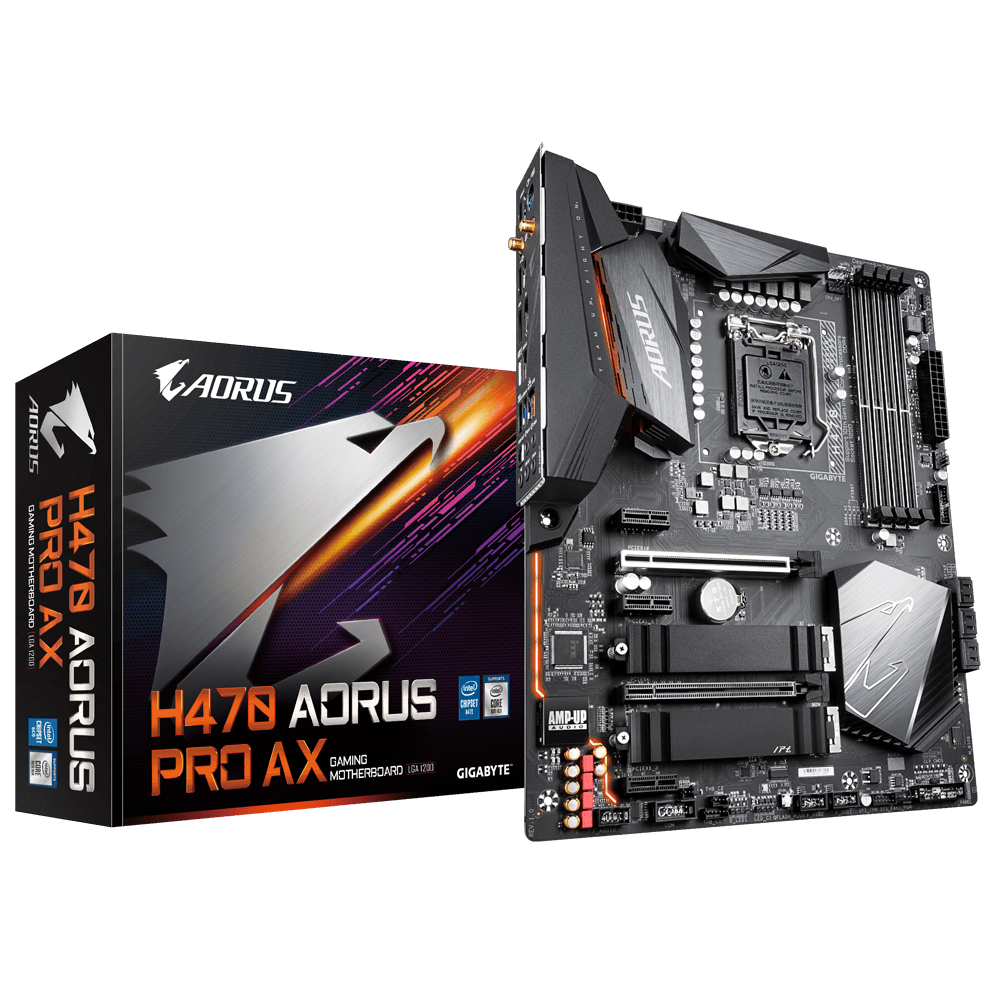 Gigabyte H470 Aorus Pro AX Motherboard