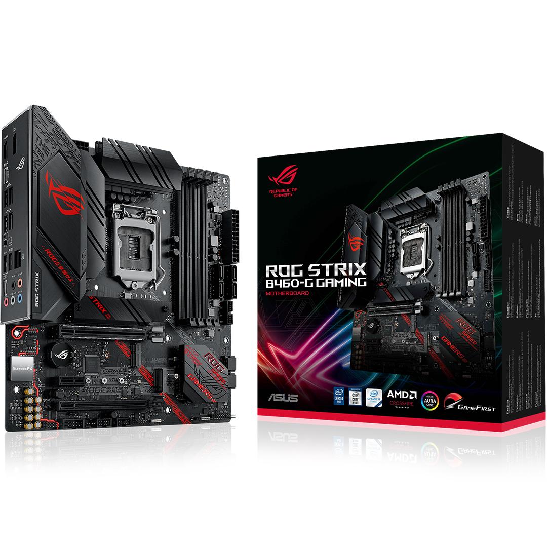 ASUS ROG Strix B460-G Gaming Motherboard