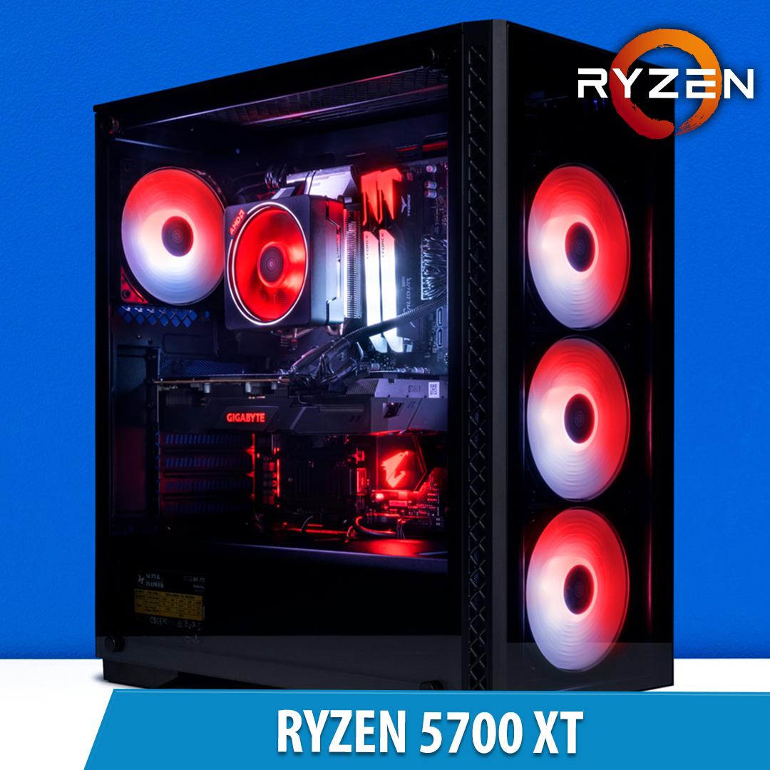 PCCG Ryzen 5700 XT Gaming System